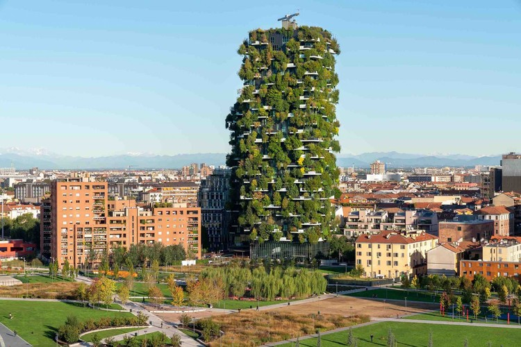 Vertical Urbanism: Milan Highrises Reaching New Heights, Courtesy of Boeri Studio