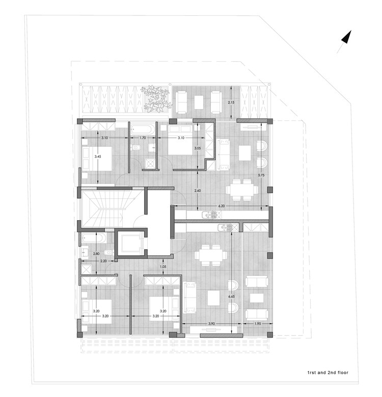 Plan - First and second floor