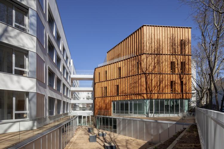 Residência estudantil em Paris / NZI Architectes, © Juan Sepulveda Grazioli