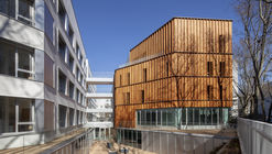 Residencia de estudiantes en París / NZI Architectes