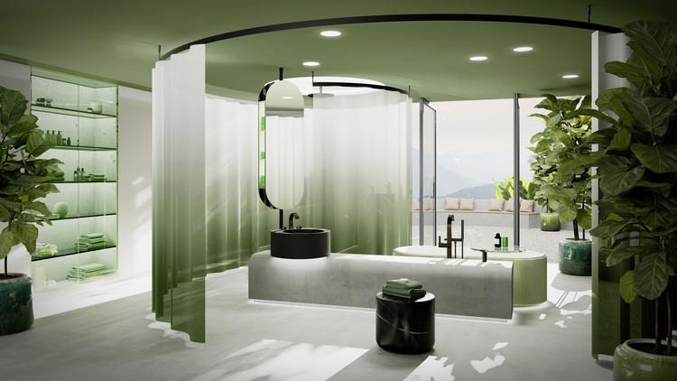 The CYO Oasis Bathroom. Image Courtesy of Dornbracht