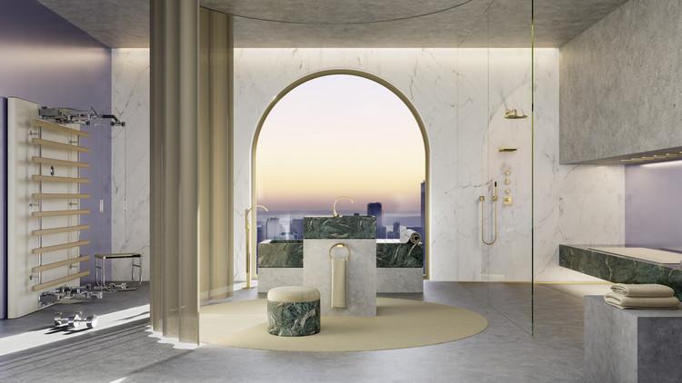 The CYO Metropolitan Bathroom. Image Courtesy of Dornbracht