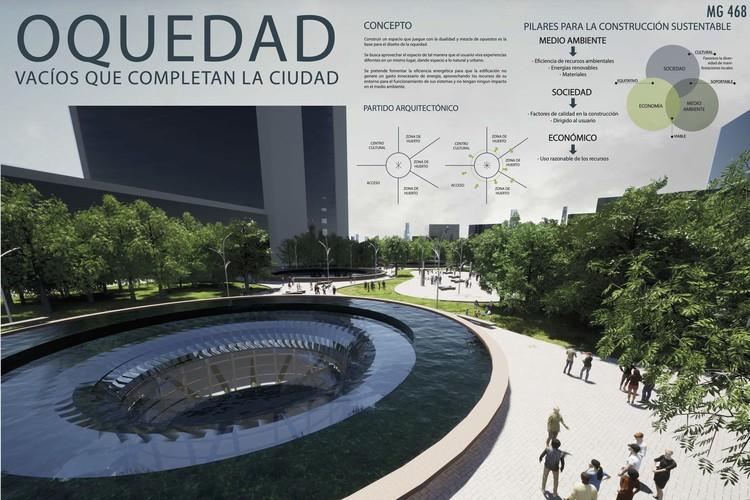 Ganadores del 20º Concurso Académico de Escuelas de Arquitectura por la Universidad Intercontinental, PRIMER LUGAR. Image