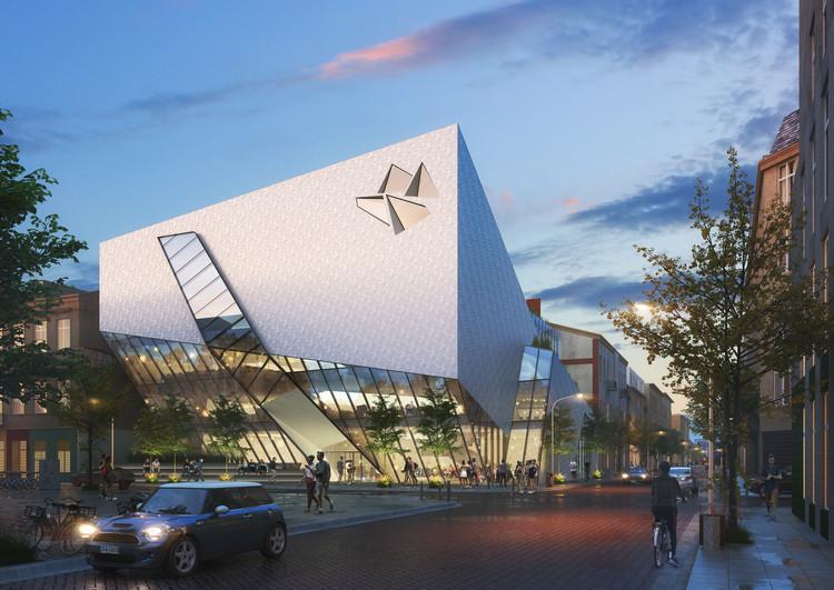 Daniel Libeskind desenvolve projeto urbano em sua cidade natal na Polônia, Cortesia de Studio Libeskind