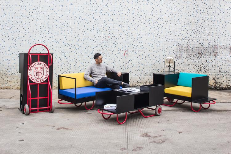 Mobiliário modular: versatilidade e inovação nos interiores, Cornell University's Intuitive Push/Pull Furniture Series Blends Asian Sensibility with New York Flavor. Fotos: © NirutBenjabanpot, Garrett Rowland