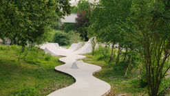 Skatepark Continua / MBL architectes + bureau David Apheceix