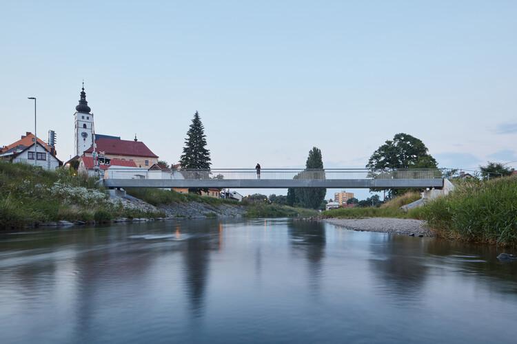 Footbridge in Příbor / Petr Tej + Marek Blank + Jan Mourek, © BoysPlayNice