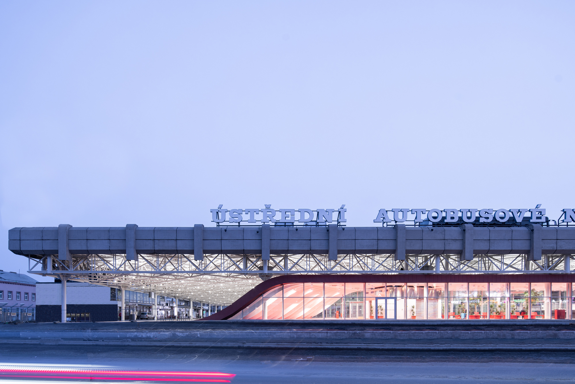 Zvonarka Central Bus Terminal  / CHYBIK + KRISTOF