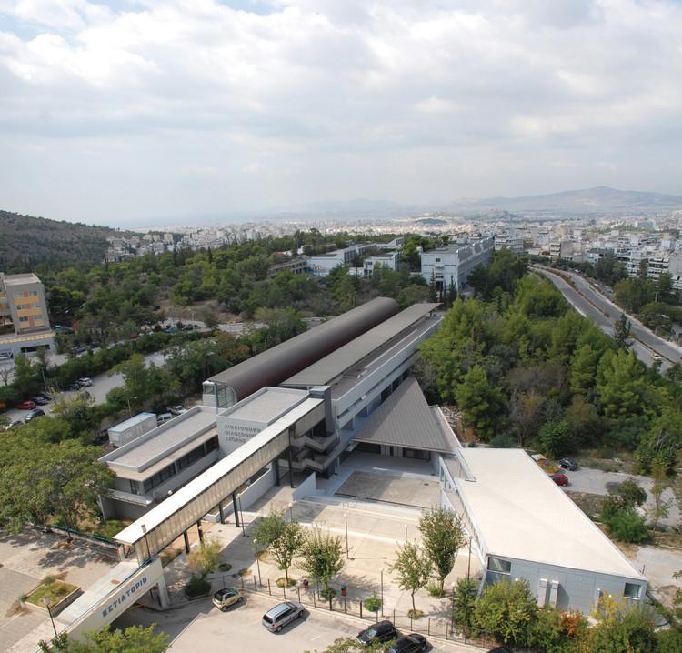 Library of the School of Philosophy / Antonis Noukakis & Partners + Theano Fotiou Architects, © Yorgis Noukakis