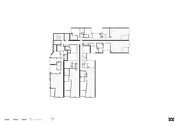 Level 1 - 3 Floor Plan