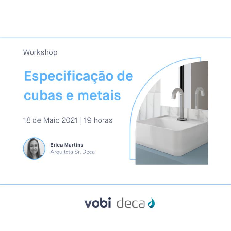 Workshop: Especificação de cubas e metais Deca