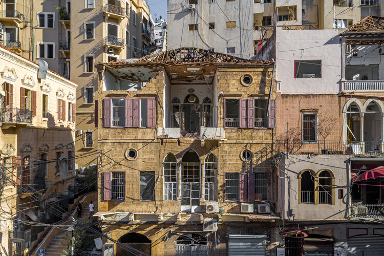 """""""Beirut, after the Dust Settles"""" in Design and the City Podcast, © Rami Rizk"""