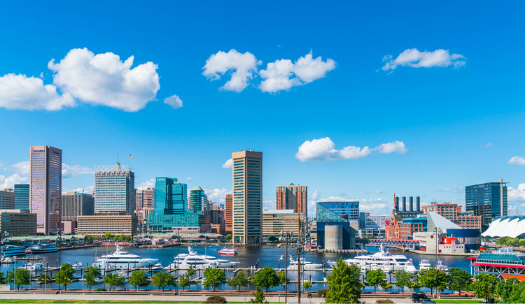 Building Back?: Richard Florida Outlines His Vision for a 'Post-Pandemic City', Baltimore, United States. Image © Checubus | Shutterstock