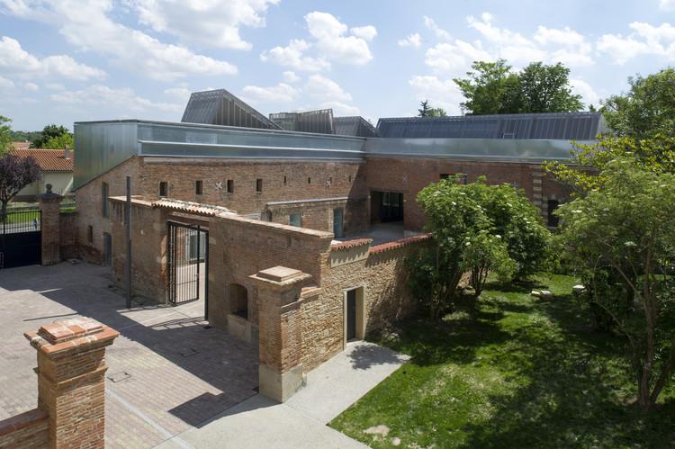 Creche e Escola de Música em Ramonville-Saint-Agne / Yves Ballot et Nathalie Franck + Architectes DPLG, © Antoine Guilhem Ducléon