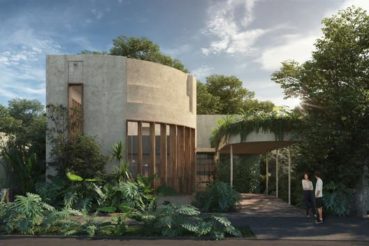 Casa SB. Image Courtesy of Esrawe Studio by Joel Flores & Emanuel Miramontes