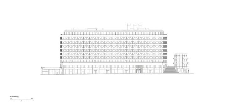 S-Building - Elevation
