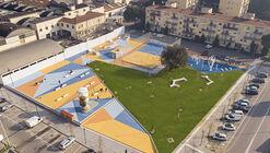 Playground MacroLotto Zero Prato / Ufficio Planificazione degli Spazi Pubblici del Comune di Prato