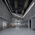The interior of the conference centre. Image © Qingshan Wu