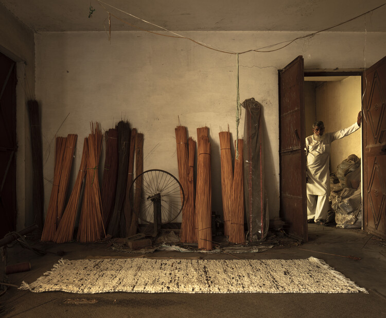 Rugs by Mark Krebs. Image © Niveditaa Gupta