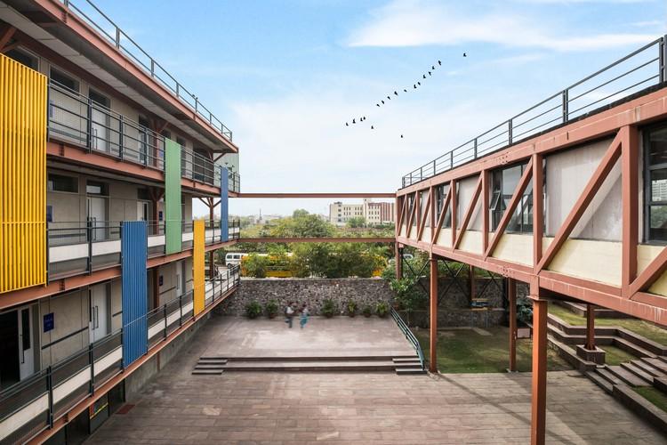 Manaskriti School / Chromed Design Studio, © Vaibhav Bhatia