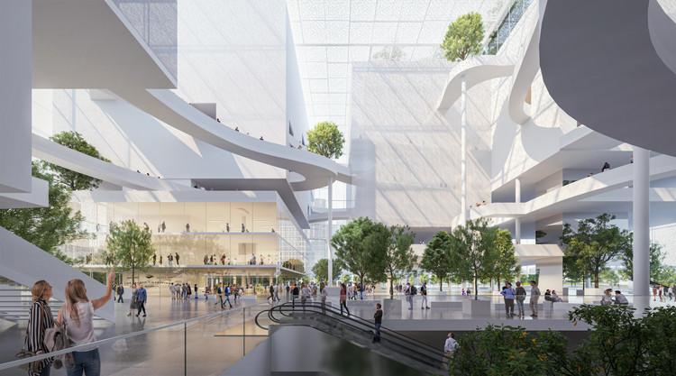 """Sou Fujimoto projeta """"Garden in a Box"""", novo espaço de exposições de Shenzhen, Cortesia de Sou Fujimoto Architects & Donghua Chen Studio"""