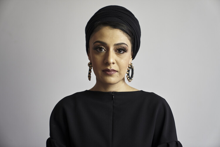 Sumayya Vally of Counterspace. Photographed by Justice Mukheli in Johannesburg, 2020. © Counterspace. Image Courtesy of Serpentine Galleries