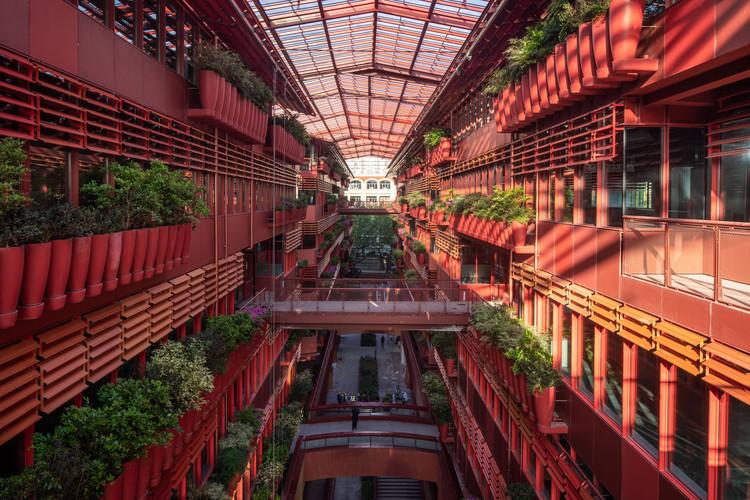 Henderson Cifi Tiandi / Ateliers Jean Nouvel, © Ateliers Jean Nouvel. Photo ©10 Studio. 恒基-旭辉新天地/The Roof