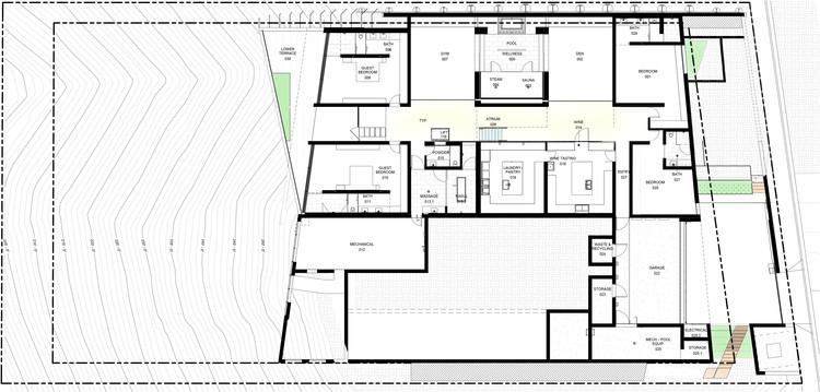 Plan - Lower floor