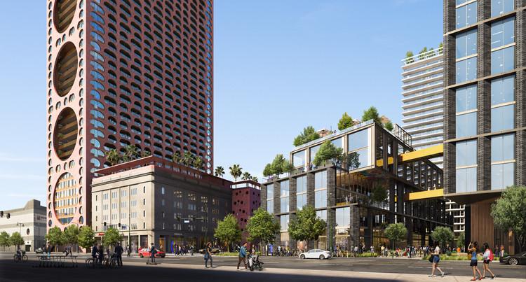 Adjaye Associates e Studio One Eleven lideram transformação de complexo industrial em Los Angeles, Cortesia de Studio One Eleven & Adjaye Associates