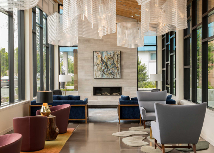 5 Ways that Custom Ceiling Features Can Enhance an Interior Space, The One Lakefront / Robin Chell Design. Image © Daniel Sheehan