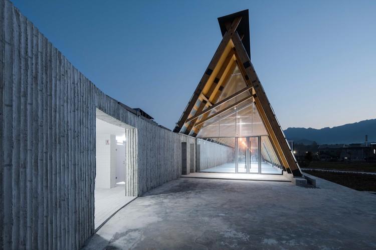 Strawberry Farm Activity Hall / Describing Architecture Studio, © Lian He