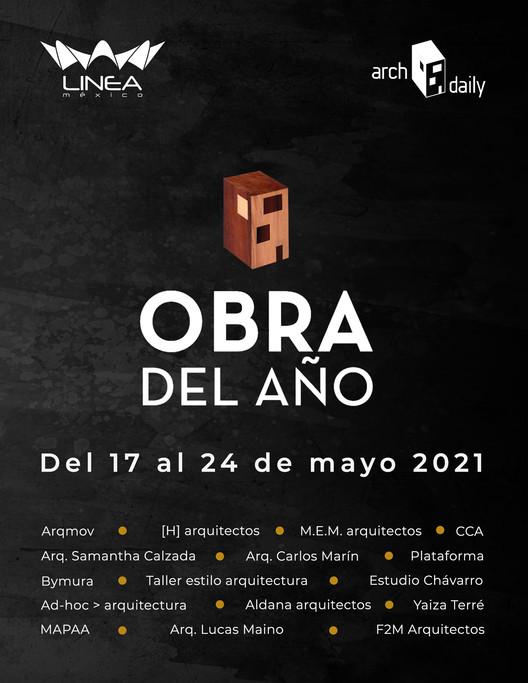 LINEA México + ArchDaily presentan: Ciclo de conversatorios Obra del Año , © LINEA México