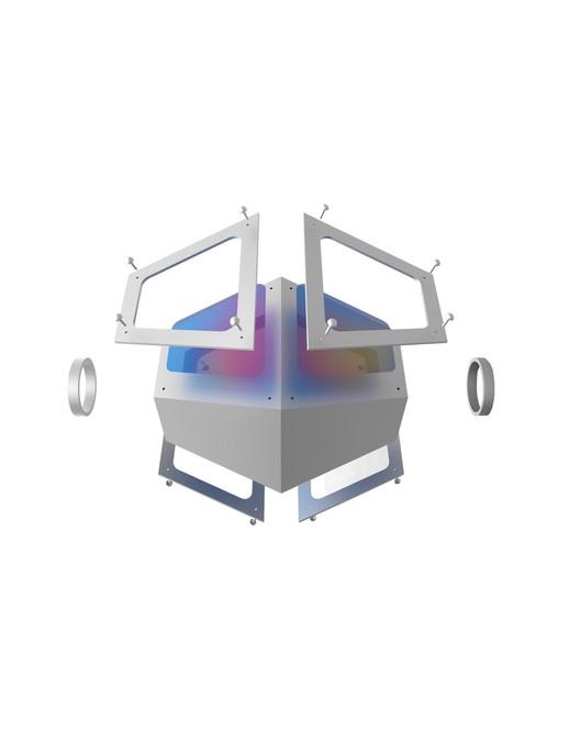 Conceptual unit axonometric