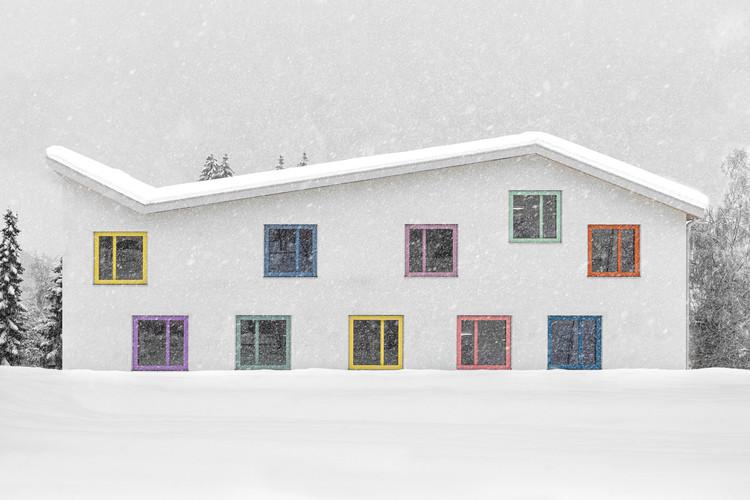 Kindergarten Enneberg   / Architekt Andreas Gruber, © Gustav Willeit
