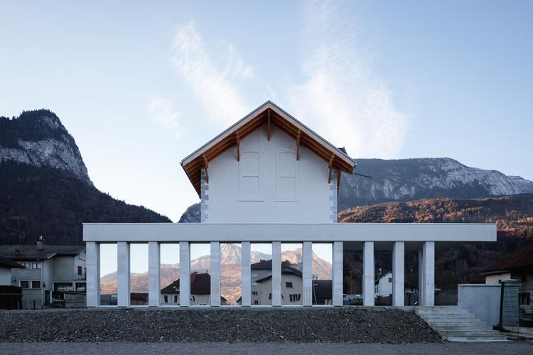 Alpex Cultural Centre / Atelier Archiplein, © Aurélien Poulat