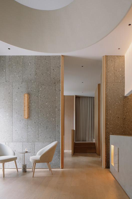 The tea pavilion. Image © Wen Studio
