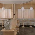 Second floor dining area. Image © Wen Studio