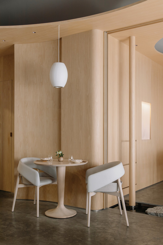 A corner of dining area. Image © Wen Studio