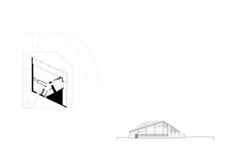 First Floor Plan and Elevation