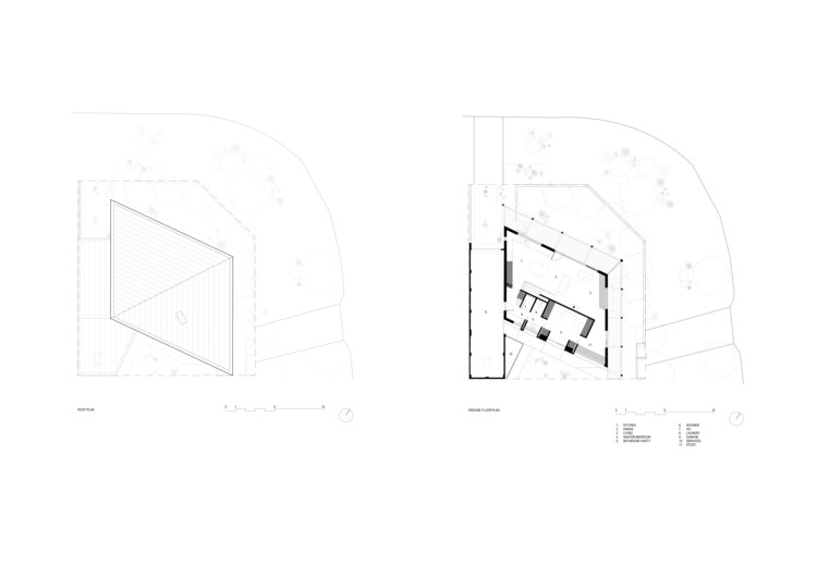 Ground Floor and Roof Plan