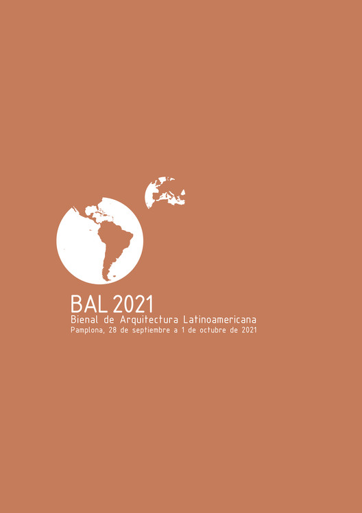 BAL 2021: Bienal de Arquitectura Latinoamericana en Pamplona, Afiche BAL2021
