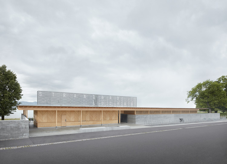 Piscine de Lochau / Architectes Innauer-Matt, © Adolf Bereuter