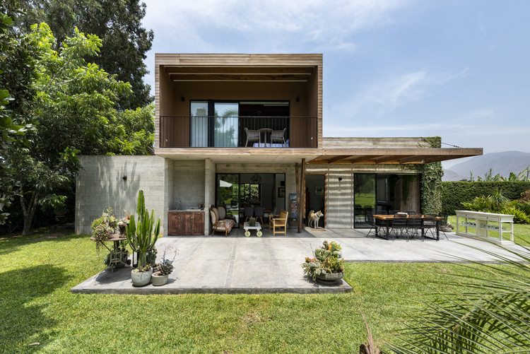 Casa Pachacamac / del Solar arquitectos, © Renzo Rebagliati