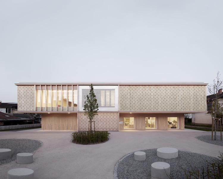 Jardín infantil Engelbach / Innauer-Matt Architekten, © Adolf Bereuter