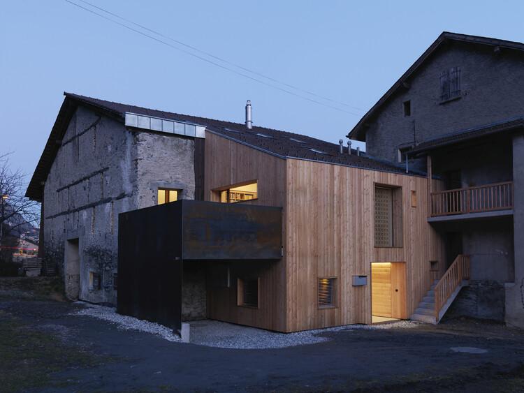 House CCB / Ralph Germann architectes, © Lionel Henriod