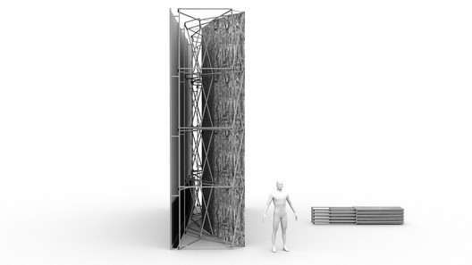 Deployable structures of the LSA's laboratory, 2021. © Julijonas Urbonas and Vladas Suncovas. Image Courtesy of Lithuanian Space Agency