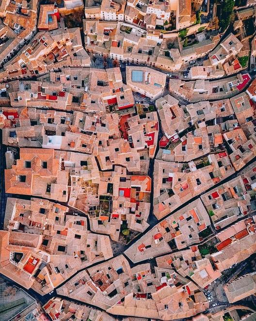 Toledo, Espanha. Drone photo by @zekedrone