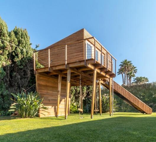Casa en el árbol Casiopea / Madeiguincho