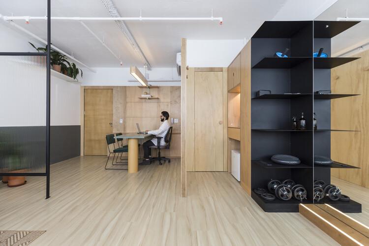 Rafael Paiva's Office / URBANODE arquitetura. Image © Marcelo Donadussi