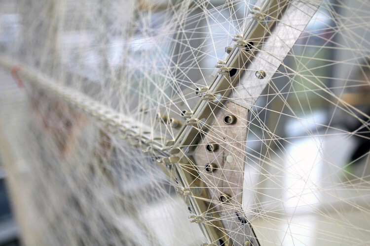 Silk Pavilion. Image © Markus Kayser